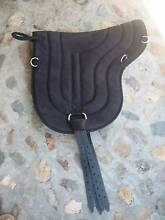 REDUCED Black synthetic lightrider bareback pad with girth strap Mooloolah Valley Caloundra Area Preview