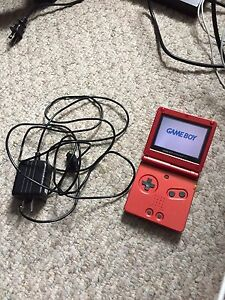 Gameboy Advance SP + charger