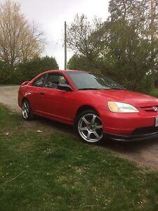 2001 Honda Civic etested with new motor/trans and clutch
