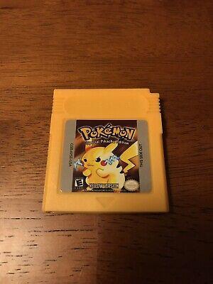 Pokemon Yellow Version Game Boy GBA GB GBC REPRO USA SELLER Free Shipping!!