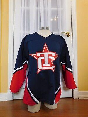 OT Sports Traverse City North Stars NAHL Hockey Jersey Size Adult Medium for sale  Prudenville