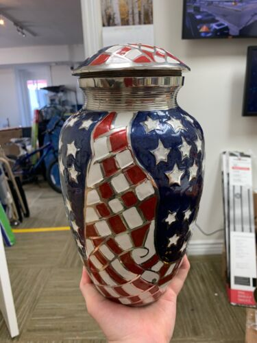 Infinity Urns Stars and Stripes Urn