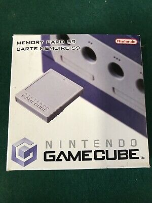 Nintendo Gamecube Memory Card 59 for sale  Shipping to Nigeria