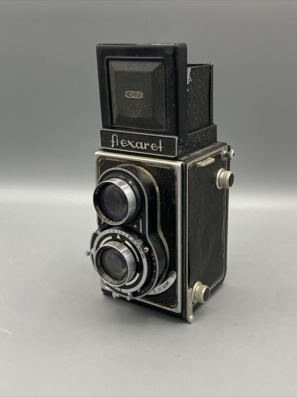 Rare Flexaret III Meopta Made In Czechoslovakia 80mm Great Display Parts Repair