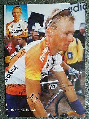 AK m.Druck.AG Bram de Groot Team Rabobank 2000 Rarität