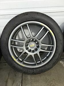 18 inch O.Z wheels and tires