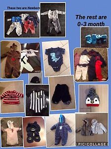 New born to 6-12m baby boy clothing.