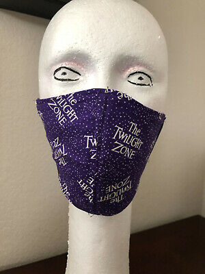 Face Mask Adult   The Twilight Zone   Cotton