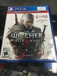 The Witcher wild hunt 3 pour ps4 bonne condition 25$