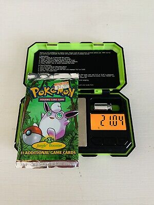 Pokemon 1999 Unlimited Jungle Booster Pack WOTC Heavy ? 21.04 Grams