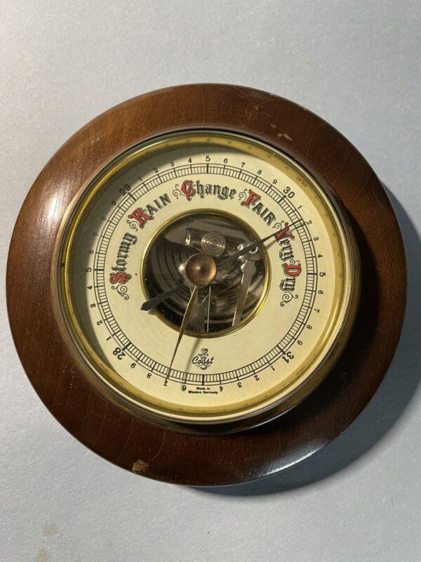 Wood Stormy Rain Change Fair Very Dry Barometer Round West Germany