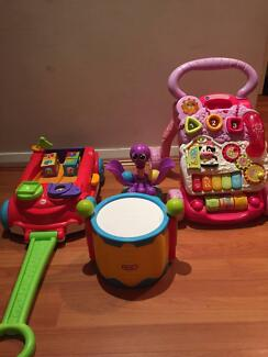 Various Toddler Toys (Little Tikes, Fisher Price and Vtech)