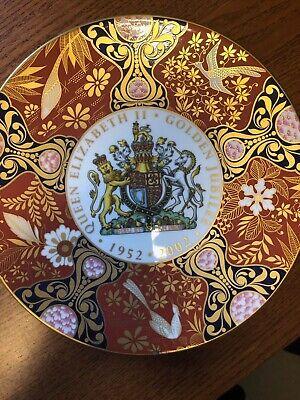 QUEEN ELIZABETH GOLDEN JUBILEE PLATE. 1952 -2002