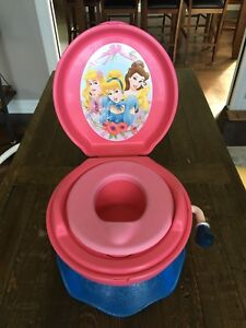 First Years Princess Potty and Stool