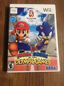 Mario and Sonic at the Olympic Games for Nintendo Wii