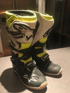 Mx boots/moto/motocross boots size 9 $200 ono