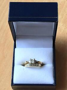 Female Solitaire Ring and Band Set Bertram Kwinana Area Preview