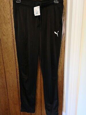 Puma Black Joggers Training Pants Size L