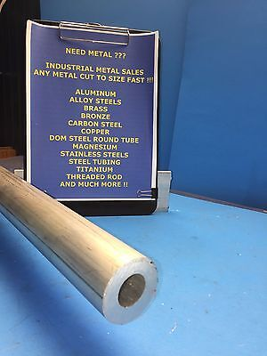 6061 Aluminum Round Tube 2 Od X 1 Id X 12-long X 12 Wall