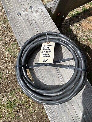 30 Ft 8-3 Wg Romex Nm-b 8-8-8-10 Black Cable
