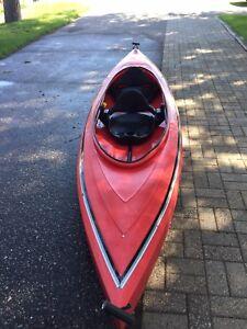 Tandem kayak two seat