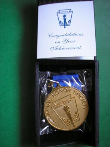 "NHS Medallion National Honor Society Medal NHS Graduation Gift 2 1/2"" NEW"