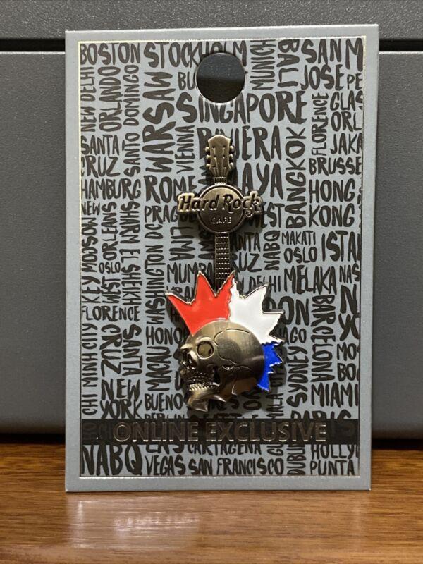 Hard Rock Cafe Prague Skull Pin