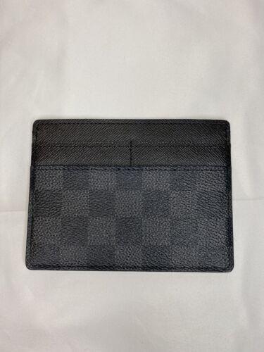 Authentic Louis Vuitton Damier Mens Card Holder