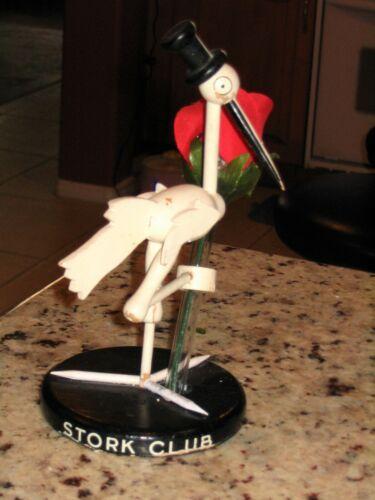 Art Deco STORK CLUB Wooden Stork Table Centerpiece/Bud Vase