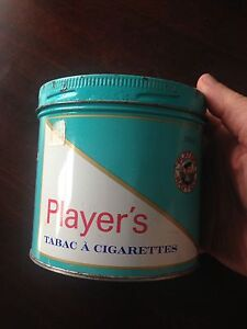Can de tabac Player's (vintage)