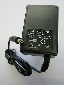 EU-European-12V-500mA-6VA-AC-AC-Linear-Adaptor-Power-Supply-Model-No-AC-1250