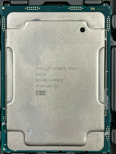 Intel Xeon Gold 6240R 2.4Hz 35.75MB 24 Core FCLGA3647 CPU PROCESSOR SRGZ8