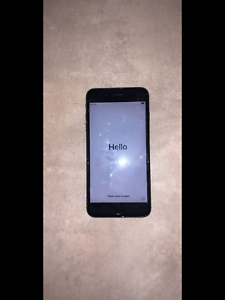 iPhone 7 plus jet black 256gb