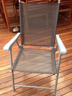 Set of 4 foldable chairs Casula Liverpool Area Preview