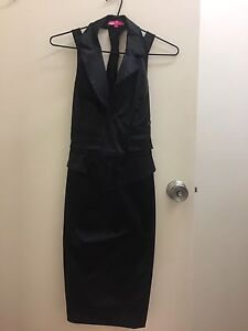 Black dress size 8 cross back Redland Bay Redland Area Preview