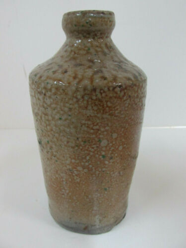 Antique Stoneware Bottle, Chemicals, Ink or Dye. 19th Century