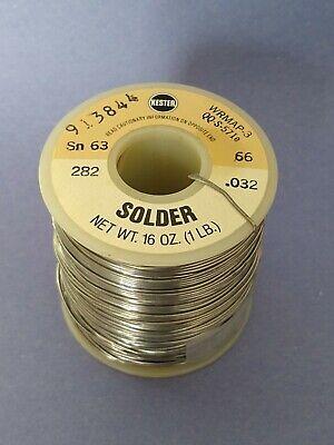 Kester Solder 6337 .032 Dia. 1lb Spool