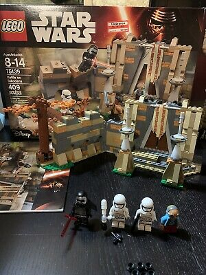 Lego Star Wars Battle On Takodana 75139 Used Box Manual Minifigures (NO FINN)