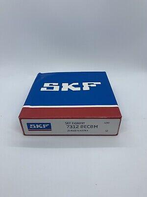Brand New Skf 7312 Becbm Angular Contact Ball Bearing