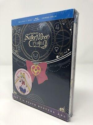 Sailor Moon Crystal Set 3 (Season 3) Blu-Ray / DVD Limited Edition Box Set