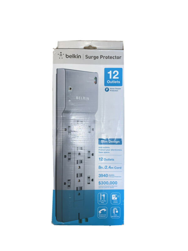 Belkin 12-Outlet Home/Office Surge Protector