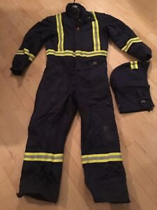 Helly Hansen FR Winter Coverall w/ CSA Reflective Striping