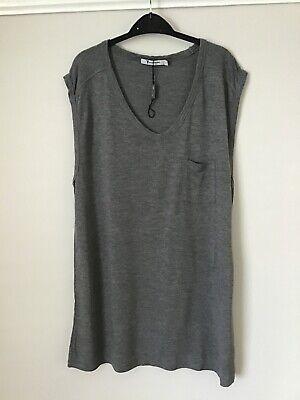Brand New Women's Alexander Wang Sleeveless T-Shirt, Size Medium