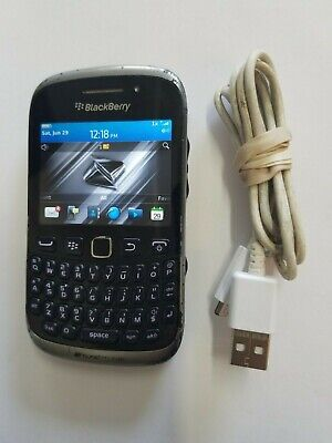 Boost Mobile Blackberry Curve 9310 BBM 3G Internet Phone CDMA Prepaid Smartphone Boost Mobile Cdma