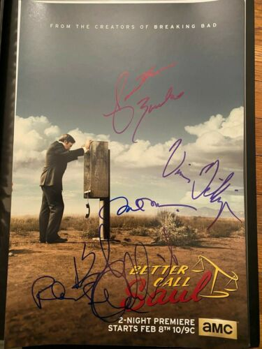 BETTER CALL SAUL BOB ODENKIRK SIGNED POSTER PHOTO 12X18! AUTOGRAPH BREAKING BAD