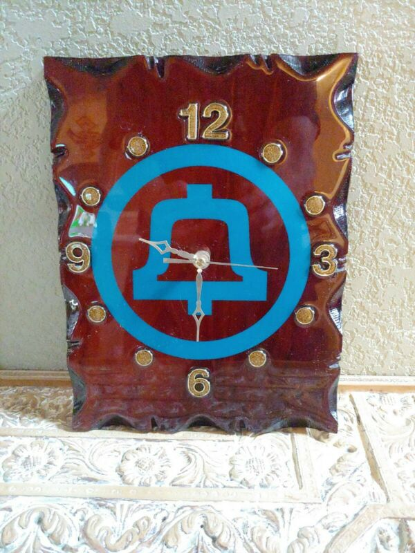 Mountain Bell Phone Company Clock
