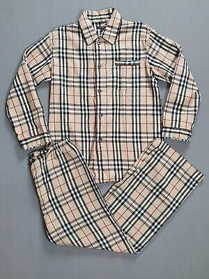 Burberry Mens Nova Check Pyjama Set Vintage - Size Medium