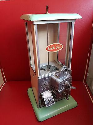 Kaugummi Automat Gumball Machine U.S.A. 30er/40er Jahre NORRIS MASTER 1 Cent