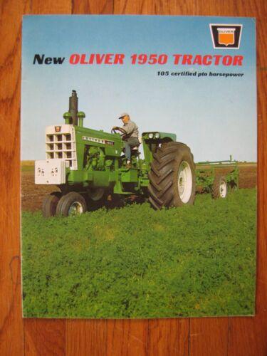 1964 Oliver 1950 Tractor Brochure