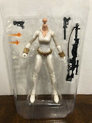 "Black Widow Exclusive Body White Marvel Legends 6"" Series"